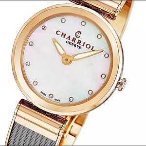 Charriol Women's Forever Mother of Pearl Watch